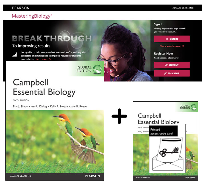 Value Pack Campbell Essential Biology, Global Edition plus Modified Mastering Biology with eText
