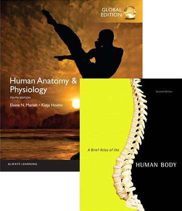 Value Pack Human Anatomy & Physiology, (Hardback), Global Edition and Human Anatomy Physiology Brief Atlas