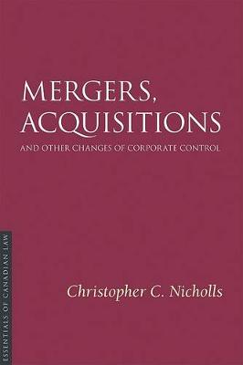 Mergers, Acquisitions, and Other Changes of Corporate Control