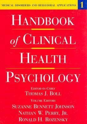 Handbook of Clinical Health Psychology: v.1: Medical Disorders and Behavioral Applications