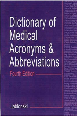 Dictionary of Medical Acronymns & Abbreviations