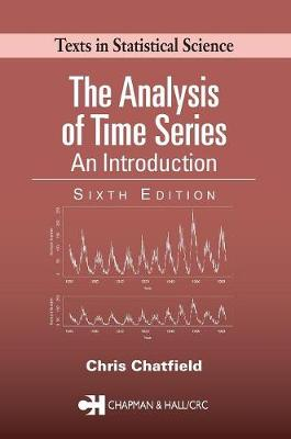 The Analysis of Time Series: An Introduction