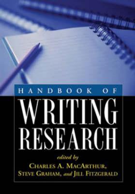 Handbook of Writing Research