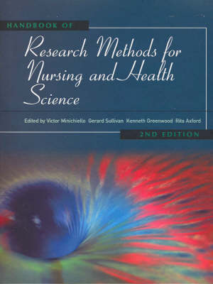 Handbook of Research Methods for Nursing and Health Sciences