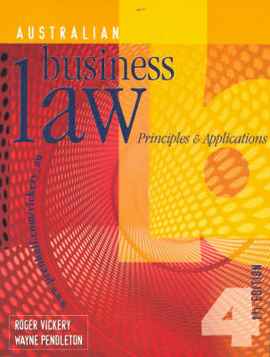 Australian Business Law: Principles and Applications