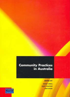 Community Practices In Australia (Pearson Original Edition)