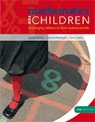 Mathematics for Children