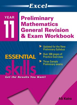 Excel Essential Skills Preliminary Mathematics General Revision & Exam Workbook