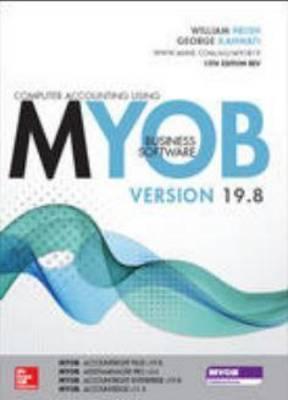 MYOB v19.8 13E Revised