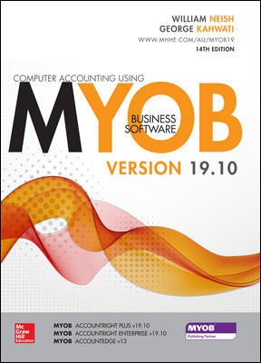 Computer Accounting using MYOB v19.10
