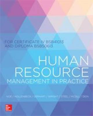 Human Resources Mgmt CIV and DIP