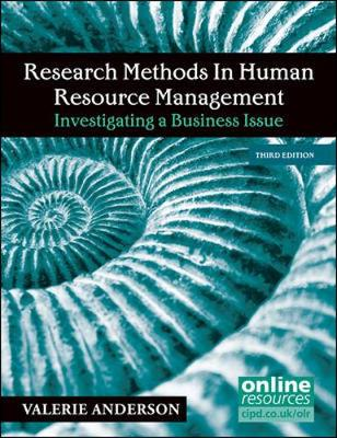 Research Methods In Human Res Mgmt 3E