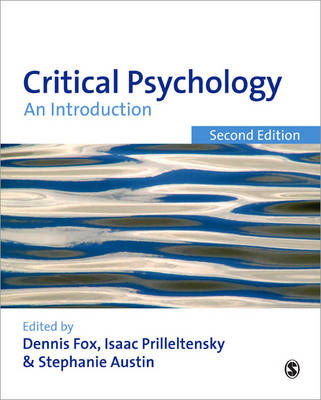 Critical Psychology: An Introduction