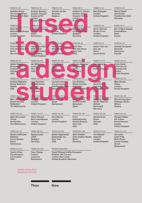 I Used to be a Design Student: Then - Now