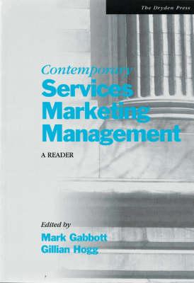 Contemporary Services Marketing Management: A Reader