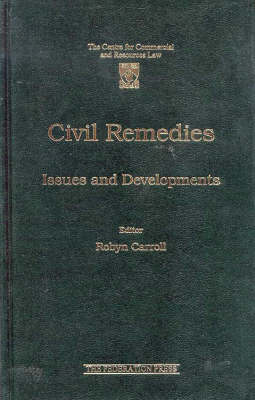 Civil Remedies: Issues and Developments