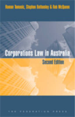 Corporations Law in Australia