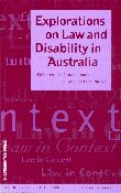 Explorations on Law and Disability