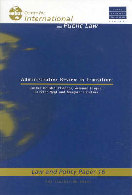 Administrative Review in Transition