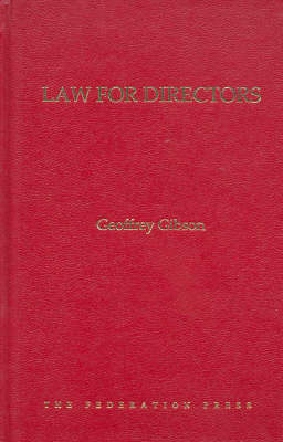 Law for Directors