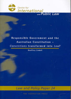 Responsible Government and the Australian Constitution