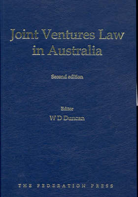 Joint Ventures Law in Australia: An Empirical Evaluation of Their Utility