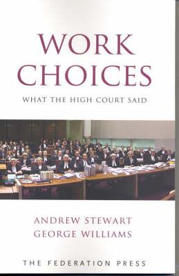 Work Choices: What the High Court Said