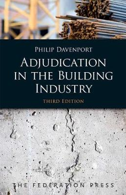Adjudication in the Building Industry