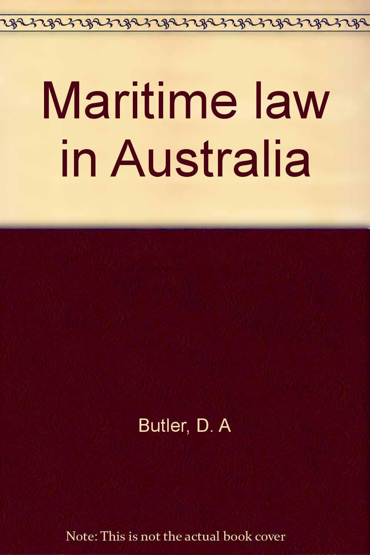 Maritime Law in Australia