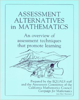 The Mathematics Curriculum and Teaching Program (Mctp): Assessment Kit: Assessment Alternatives in Maths, Links Lesson and Blackline Masters