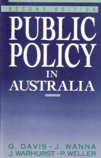Public Policy in Australia