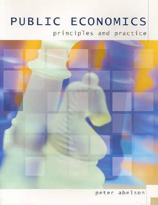 Public Economics Principles And Practice