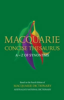 Macquarie Concise Thesaurus