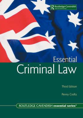 Australian Essential Criminal Law