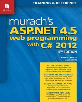 Murachs ASP.NET 4.5 Web Programming with C# 2012
