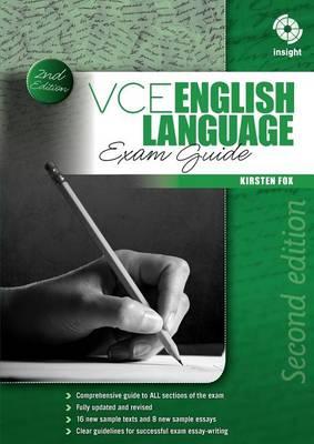 VCE English Language Exam Guide