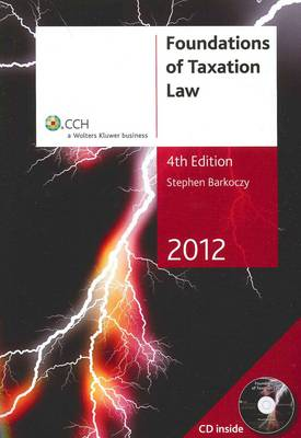 Foundations of Taxation Law 2012