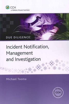Incident Notification, Management and Investigation