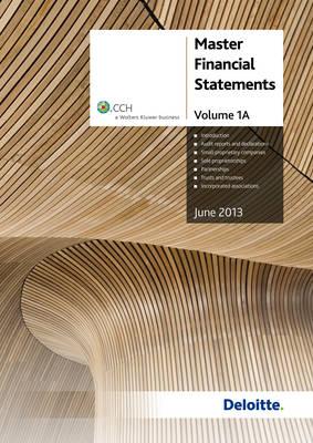 Master Financial Statements: v. 1