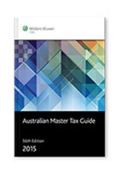 Australian Master Tax Guide 2015