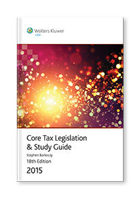 Core Tax Legislation and Study Guide 2015