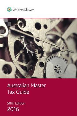 Australian Master Tax Guide 2016