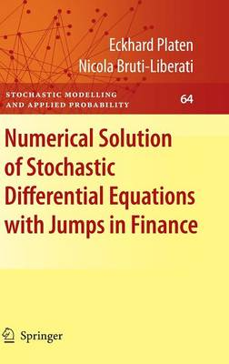 Numerical Solution of Stochastic Differential Equations with Jumps in Finance