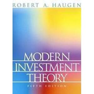 Modern Investment Theory 5e