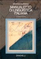Manualetto DI Linguistica