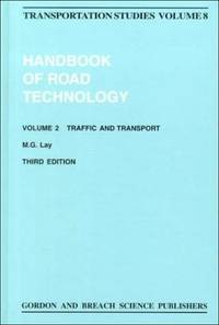 Handbook of Road Technology